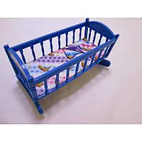 Кроватка Барби 3625, кроватка для куклы, игрушка для девочек, аксессуар для барби