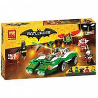 Конструктор Bela 10630 Бетмен Batman Movie Гоночный автомобиль Загадочника 282 дет, фото 1