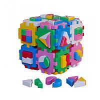 """Куб """"Розумний малюк """"Супер """"Логіка"""" 2650, детская развивающая игрушка, сортер"""