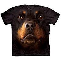 3D футболка для мальчика The Mountain р.XL 13-15 лет футболки детские с 3д принтом рисунком (Ротвейлер)
