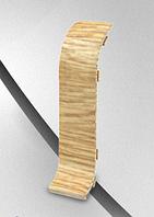 Соединитель- комплектующие для плинтус напольный с кабель каналом ТЕКО Люкс