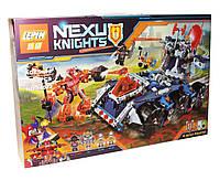 """Конструктор для мальчика, Lepin серия """"Nexo Knights"""" (Башенный тягач Акселя), 704 детали (14022) - аналог LEGO (лего)"""