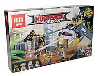 Конструктор аналог лего Lepin Ниндзяго (Бомбардировщик Морской дьявол), 364 детали (06055)