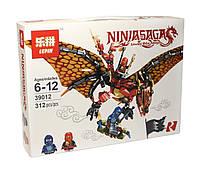 Конструктор аналог лего Lepin Ниндзяго (Дракон Кая), 312 детали (39012)