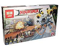 Конструктор аналог лего Lepin Ниндзяго (Летающая подводная лодка), 368 деталей (06062)