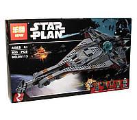 Конструктор аналог лего Lepin Звездные Войны (Звездолёт Стрела), 805 деталей (05113)
