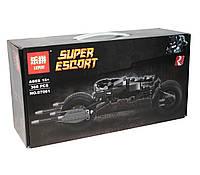 """Конструктор для мальчика, Lepin серия """"Super Heroes"""" (Bat-Pod: Мотоцикл Бэтмена), 366 деталей (07061) - аналог LEGO (лего)"""