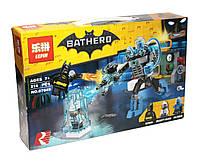 Конструктор аналог лего Lepin Супер герои (Бэтмен: Ледяная атака Мистера Фриза), 216 деталь (07049)