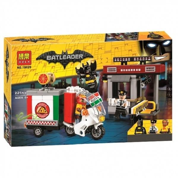 Конструктор Bela 10629 Бетмен Batman Movie Особая Доставка Пугала 221 дет