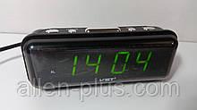 Годинник мережеві VST 738-2 зелені