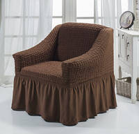 Чехол на кресло с оборкой DO&CO , Турция  (1шт)