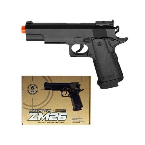 Детский пистолет ZM 26 металлический