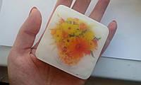 """Мыло для рук с картинкой/логотипом/фото """"Квадрат"""""""