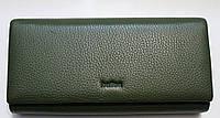 Женский кожаный кошелек Balisa МАГНИТ A90 Зеленый кожаные кошельки оптом Одесса 7 км