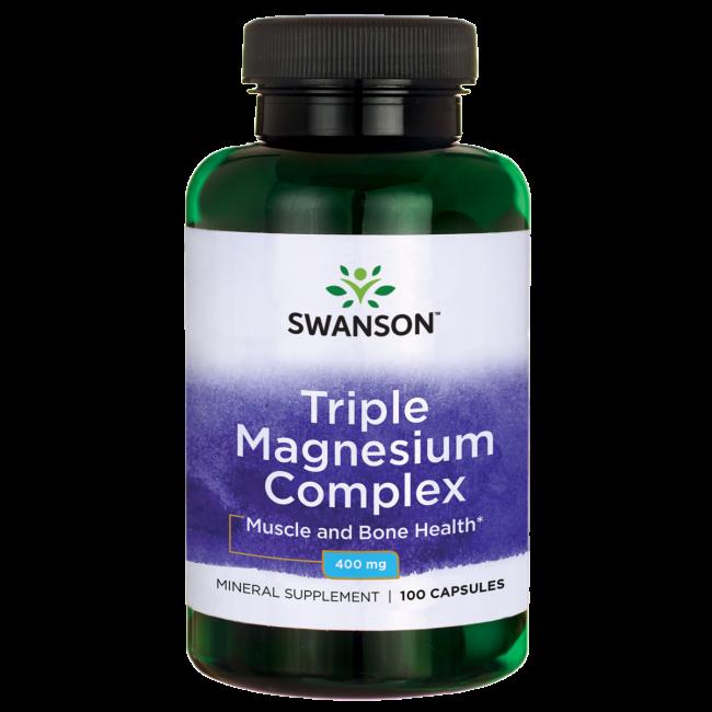 Магний комплекс / Triple Magnesium Complex, 400 мг 100 капсул