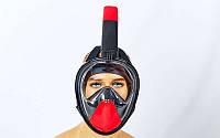 Маска для снорклинга с дыханием через нос, фото 1