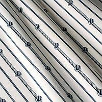 Ткань Полоска  морской узел
