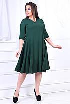 ИВ7011 Платье клеш (размеры 46-58), фото 3