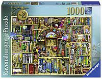 """Пазл """"Причудливый книжный магазин №2"""" 1000 шт. Ravensburger (RSV-194186)"""