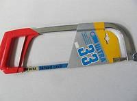 Ножовка по металлу с металлической обрезиненной ручкой 300мм