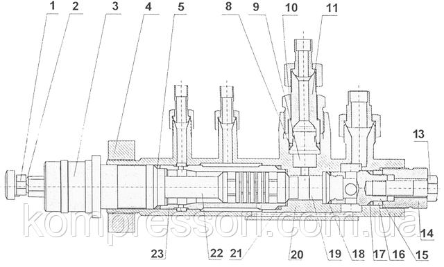 Насос 22НСГ-160/20, запасні частини до насосу 22НСГ-160/20