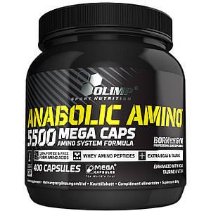 Аминокислоты OLIMP Anabolic Amino 5500 400 caps