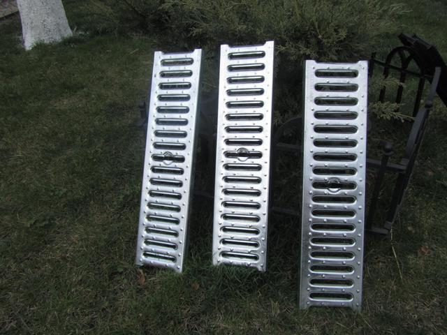 Решетки к водотводным лоткам