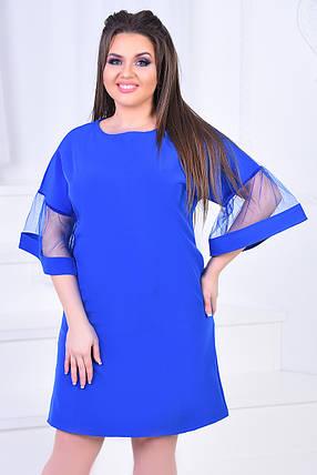 ИВ7016 Нарядное платье  размеры (46-58), фото 2