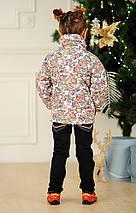 "Короткая детская куртка на молнии ""RISELLE"" с карманами, фото 3"