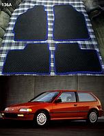 Коврики на Honda Civiс Hatchback IV 87-91. Автоковрики EVA