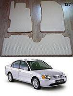 Коврики на Honda Civic VII '01-04. Автоковрики EVA, фото 1