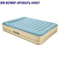 Велюр-кровать 69007