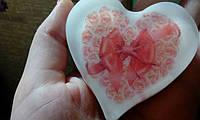 """Мыло для рук с картинкой/логотипом/фото """"Сердце"""""""