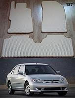 Коврики на Honda Civiс VII '04-05. Автоковрики EVA, фото 1