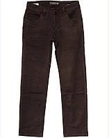 4003 Fangsida коричневые (32-38, полубатал 7 ед.) джинсы мужские весенние стрейчевые