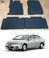 Коврики на Honda Civic VIII sedan '06-12. Автоковрики EVA