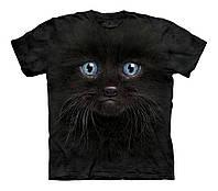 3D футболка для девочки The Mountain р.XL 13-15 лет футболки детские 3д (Черный Котенок)