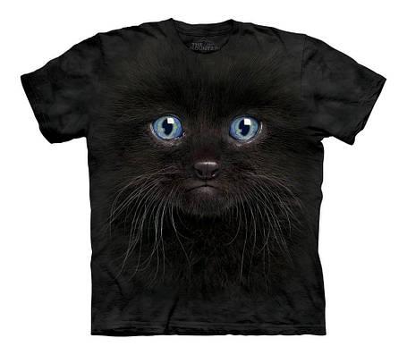 3D футболка для девочки The Mountain р.XL 13-15 лет футболки детские с 3д рисунком (Черный Котенок), фото 2
