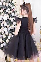 """Нарядное приталенное мини-платье """"RALLEN"""" с пышной фатиновой юбкой, фото 3"""