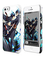 Чехол на  iPhone 5C blue exorcist