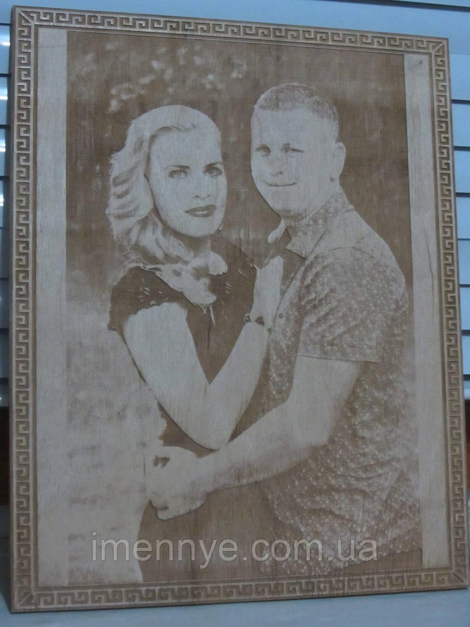 Подарок на свадьбу портрет по фото