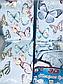 Семейный  комплект постельного белья из полисатина Небесные бабочки, фото 3