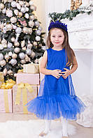 """Нарядное детское платье """"FATIMA"""" с фатиновой оборкой (2 цвета)"""