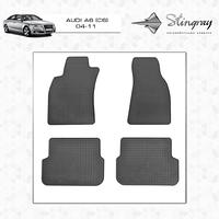 Резиновые коврики (4 шт, Stingray Premium) - Audi A6 C6 2004-2011 гг.