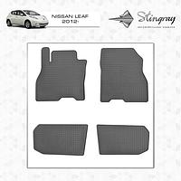 Nissan Leaf 2012+ гг. Резиновые коврики (4 шт, Stingray Premium)