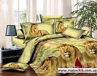 Комплект постельного белья 2-спальный Лев