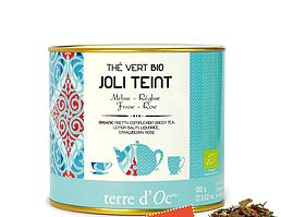 Органічний зелений чай для тонусу шкіри,100г , Terre d'oc