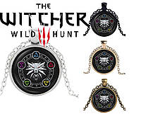 Подвеска стеклянная The Witcher Ведьмак магический, фото 1