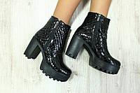 Кожаные ботинки на каблуке Giuseppe Zanotti 36