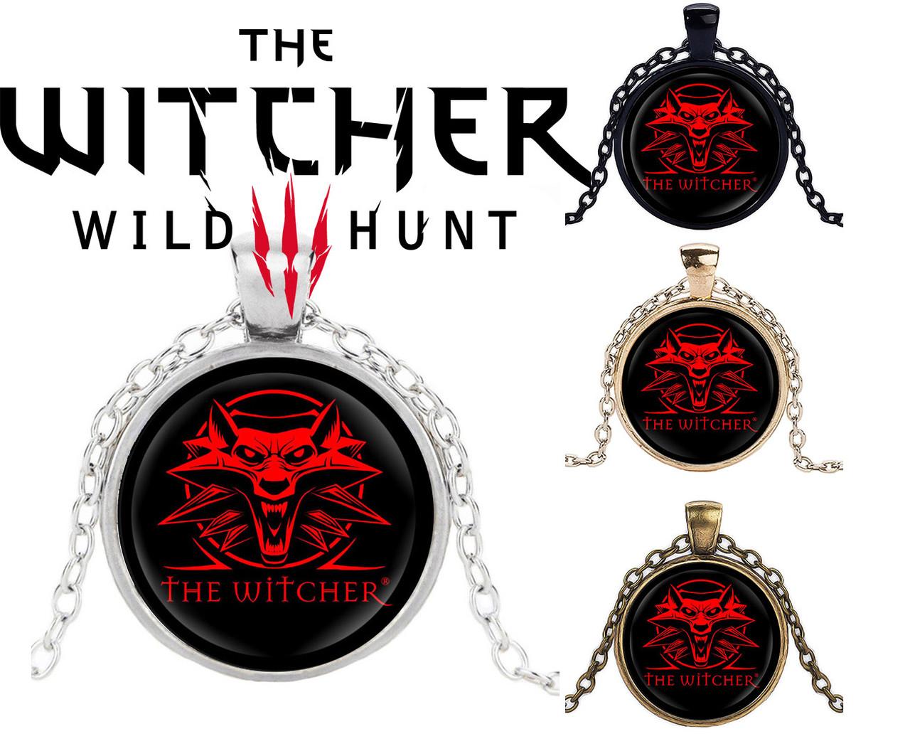 Кулон Ведьмак The Witcher Красный